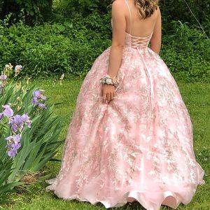 Sherri Hill Pink Prom Dress
